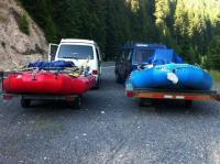 Towing raft