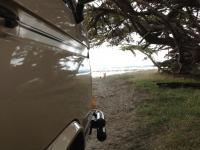 Soma beach in our syncro Adventurewagen