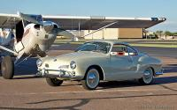 Ghia and plane