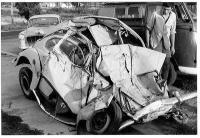 Crash VW Bug, L87, Wreck, Accident