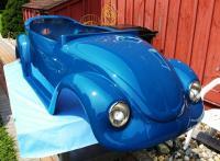 VW convertible go kart body