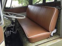 Mango / Caramel seat covers