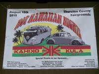 Kahiko Kula Hot Hawaiian Nights VW Car Show 2012