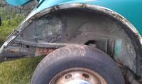 Rust on rear apron & rear quarters '74 Super