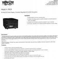 Tripp-Lite PR20 DC Power Supply