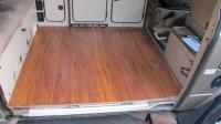 Wood flooring and panels