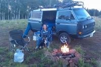 camping at 9,500 feet