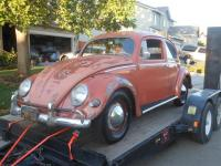 Coral Red 57' Barn Find
