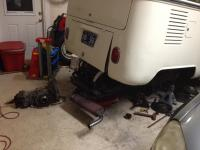 '66 Deluxe with tranny dropped out