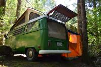 camping in Squamish