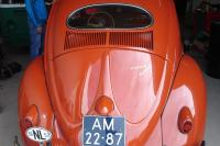 pink/coral oval 1957