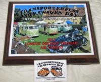 Transporterfest 2012 award and dash plaques