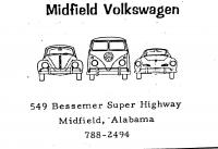Midfield VW ad from 1967