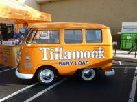 Tillamook cheese bus