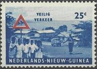1962 postage stamp with Bus