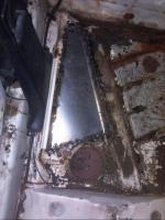 Floor pan patch
