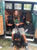 camping with my doggies
