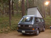 Westy camping