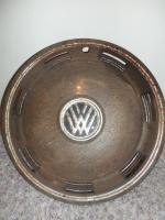 JC Whitney Hubcap uber patina