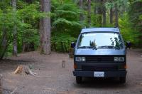 Westy in Umpquo National Forest