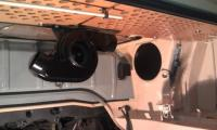 New engine compartment panels