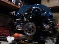 Rebuilding engine in the 1961 Lightining Bug