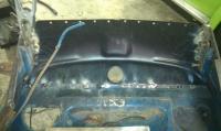 Front apron repair