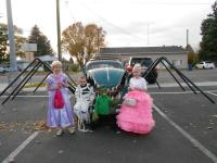 67 VW Beetle Spider Hybrid for Halloween trunk or treat