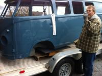 Sunroof swivel seat kombi and owner