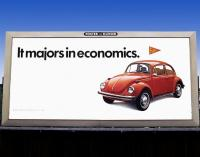 Vintage VW billboards
