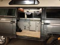 Westfaia camper kit installed in to a Adventurewagen