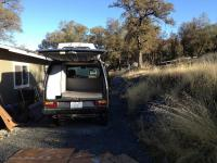 Westfalia camper kit installed in to a Adventurewagen