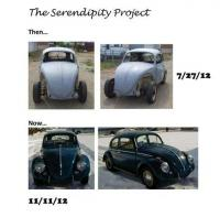 My '64 bug project