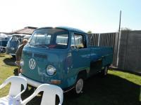 Restored Blue Bay Window Single Cab