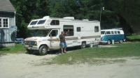 RV towing bus