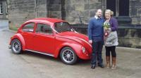 Cal Look wedding car!