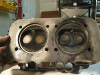 Photos of cylinder heads