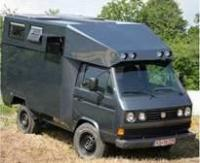 Bernd Jaeger's syncro expedition camper coach built 4