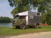Bernd Jaeger's syncro expedition camper coach built 1