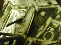 Seam Sealing floor pans